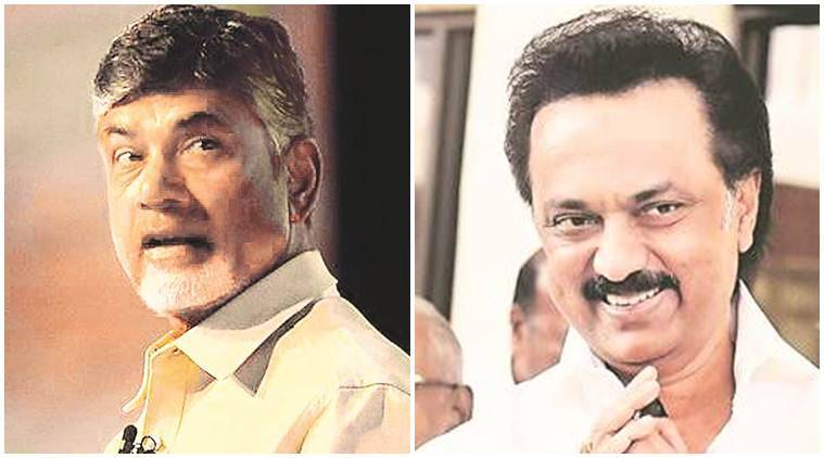 Chandrababu Naidu meets MK Stalin, asks him to join Opposition alliance