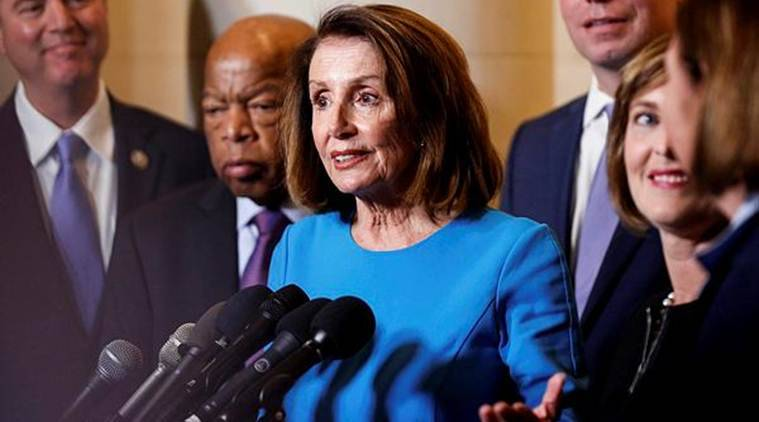 Nancy Pelosi was overwhelmingly nominated to become House speaker in an internal Democratic caucus vote Wednesday. (Reuters)
