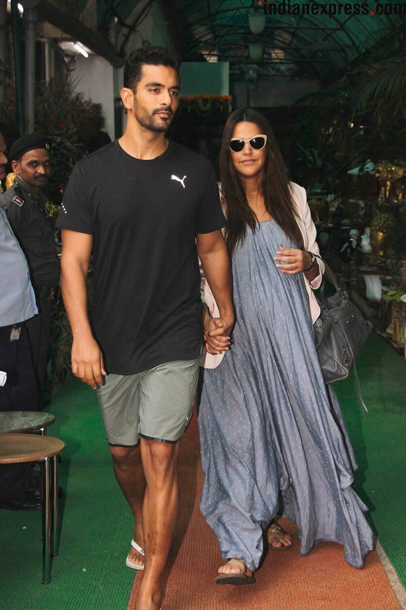 neha dhupia pregnant photos