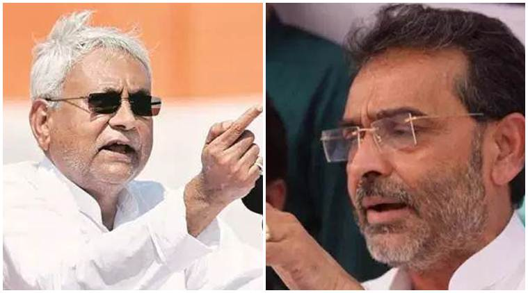 Upendra Kushwaha, Nitish Kumar, Kushwaha to sit on fast, Bihar education, Nalanda Model, Bihar news, Indian express