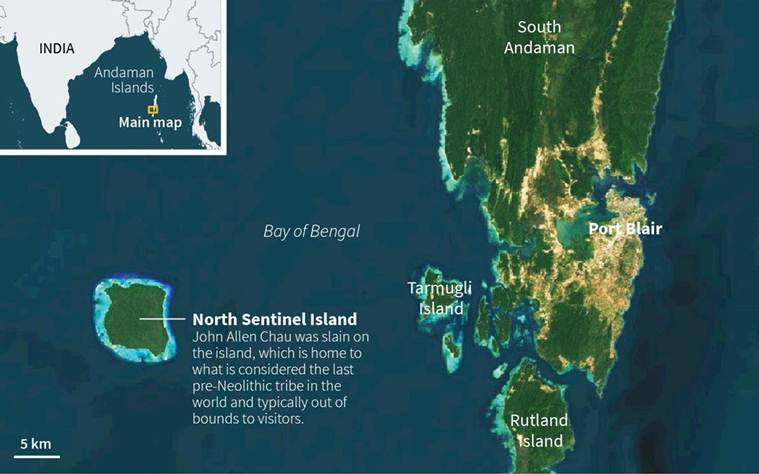 andaman tourist killed on North Sentinel Island
