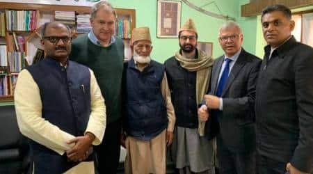 Norwegian Prime Minister Kjell Magne Bondevik, Norwegian Prime Minister visits india, jammu and kashmir, j k news, separatist leaders, indian express