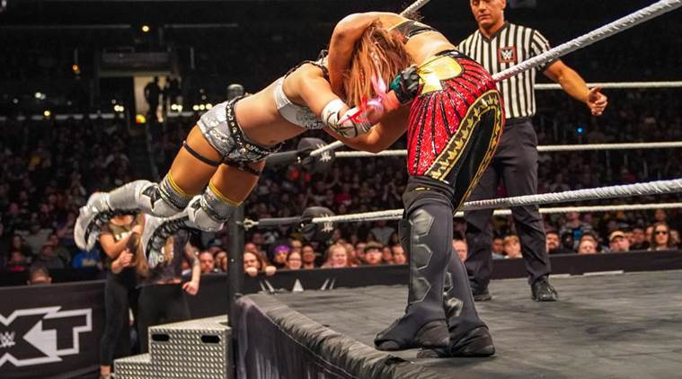 WWE NXT Takeover War Games: This move by Kairi Sane on Shayna Baszler left fans shocked, watch video
