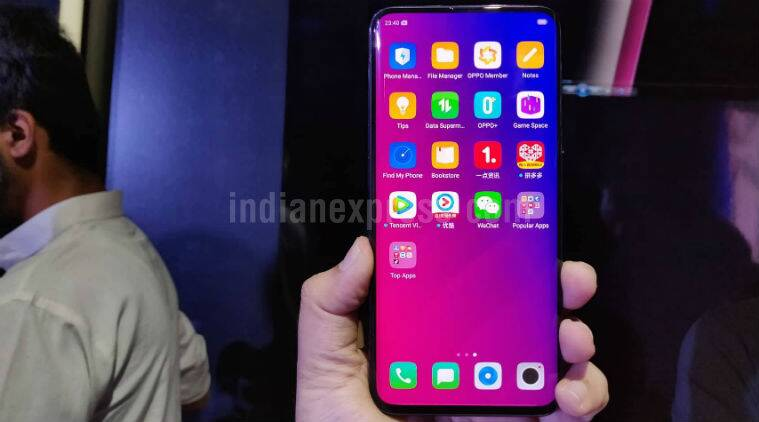 Oppo, Oppo Foldable phone, Oppo MWC 2019, MWC 2019, Oppo foldable phone, Oppo phone, Samsung foldable phone