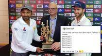 After 'Biscuit' trophy, Pakistan Cricket Board's 'Oye Hoye' trophy is getting laughs