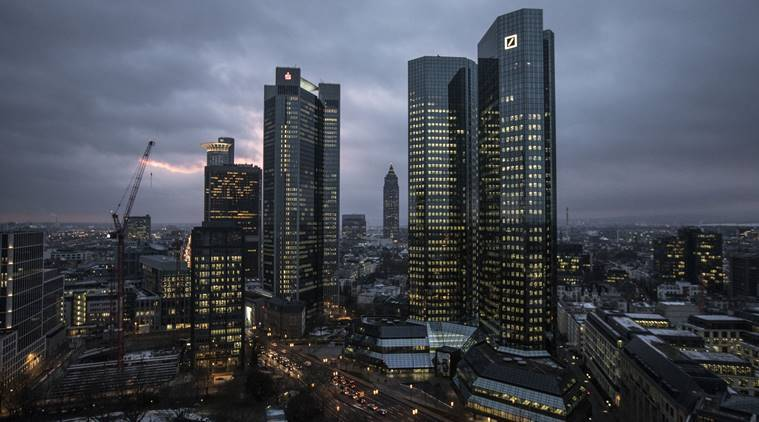 German police have raided Deutsche Bank headquarters