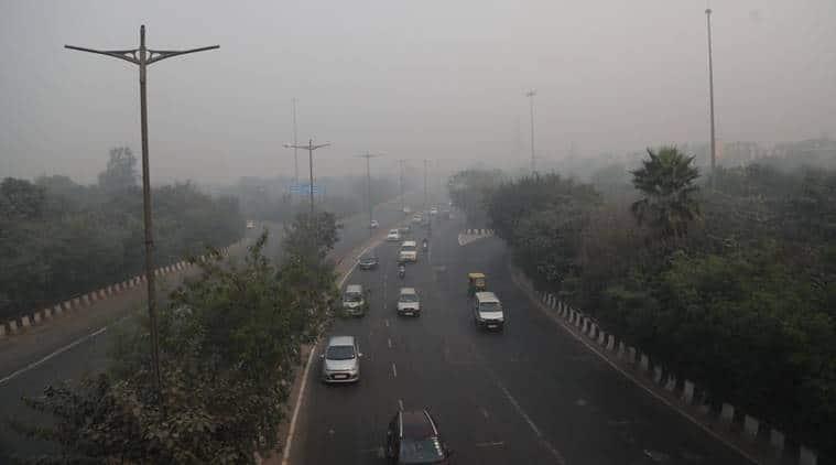 Pandav Nagar on Thursday morning (Express Photo by Abhinav Saha)