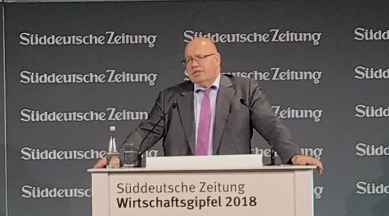 German minister looks to tax cuts as economy contracts