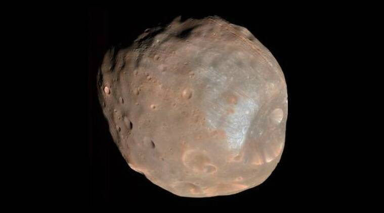 NASA Mars, Phobos Mars, grooves on Phobos, Mars moons, Stickney crater Phobos, NASA Mars missions, Phobos craters, size of Phobos, Mars 2020 mission NASA, latest missions NASA