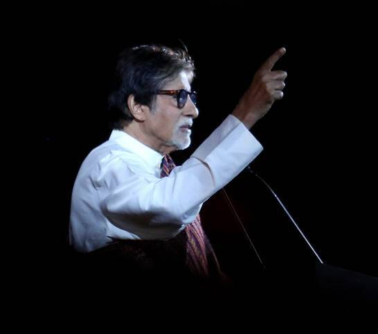 Amitabh Bachchan's address at Stories of Strength