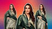 Preity Zinta cuts a pretty picture in this Raw Mango outfit