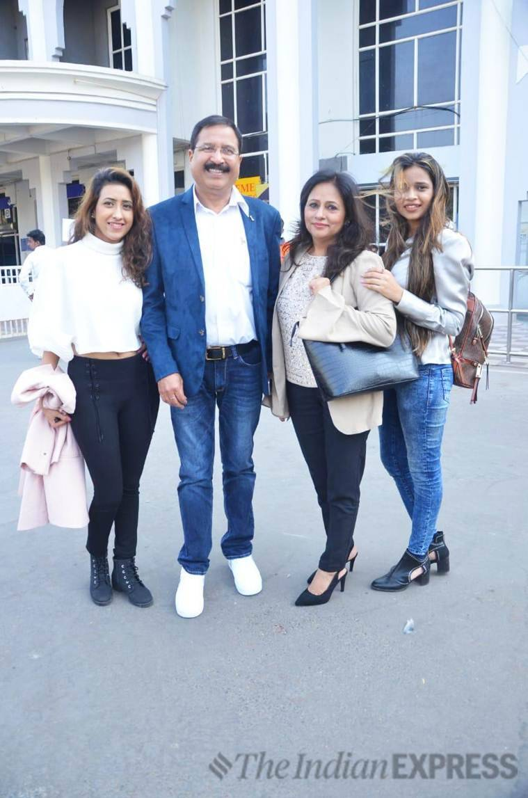 Priyanka Chopra's uncle Pradeep Chopra has also arrived at the wedding venue with his family on Friday.