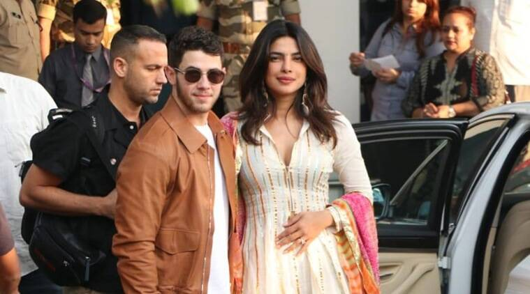 Priyanka Chopra and Nick Jonas reach Jodhpur in style