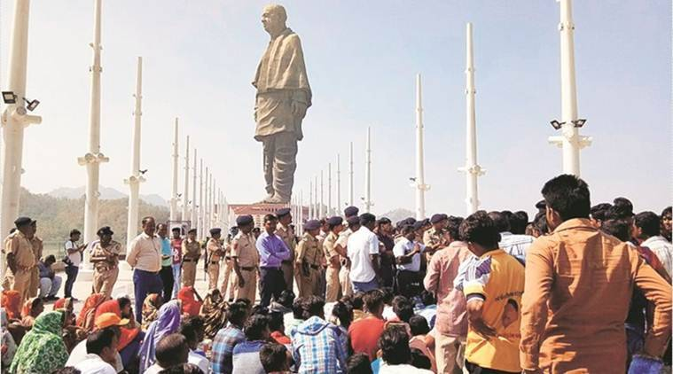 Gujarat: Long queues, irked tourists at Statue of Unity as lift stops working again