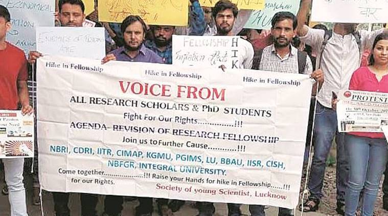 iit bombay, iisc, research scholar protest