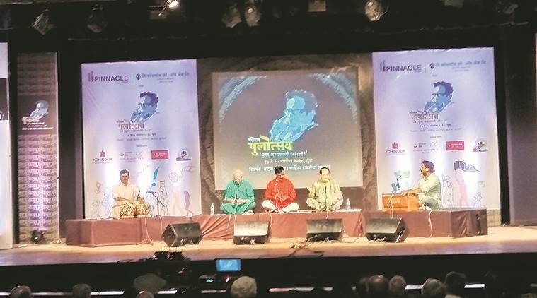 PuLa festival, Narendra dabholkar, Mandar Paranjpe, Renu Gavaskar, Pune news, indian express