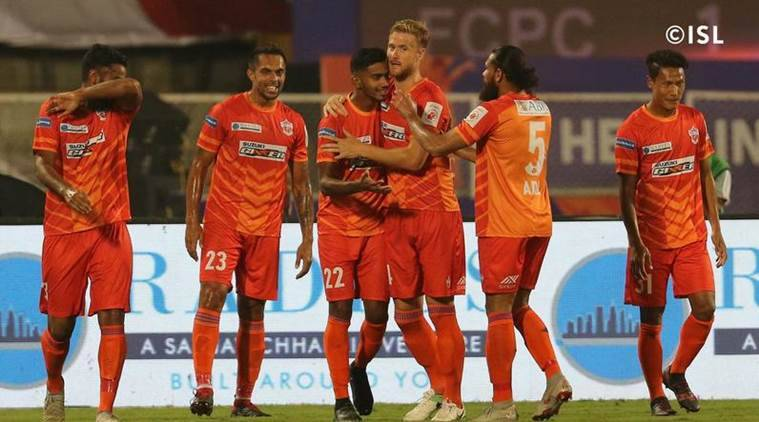 Image result for NorthEast United FC vs FC Pune City