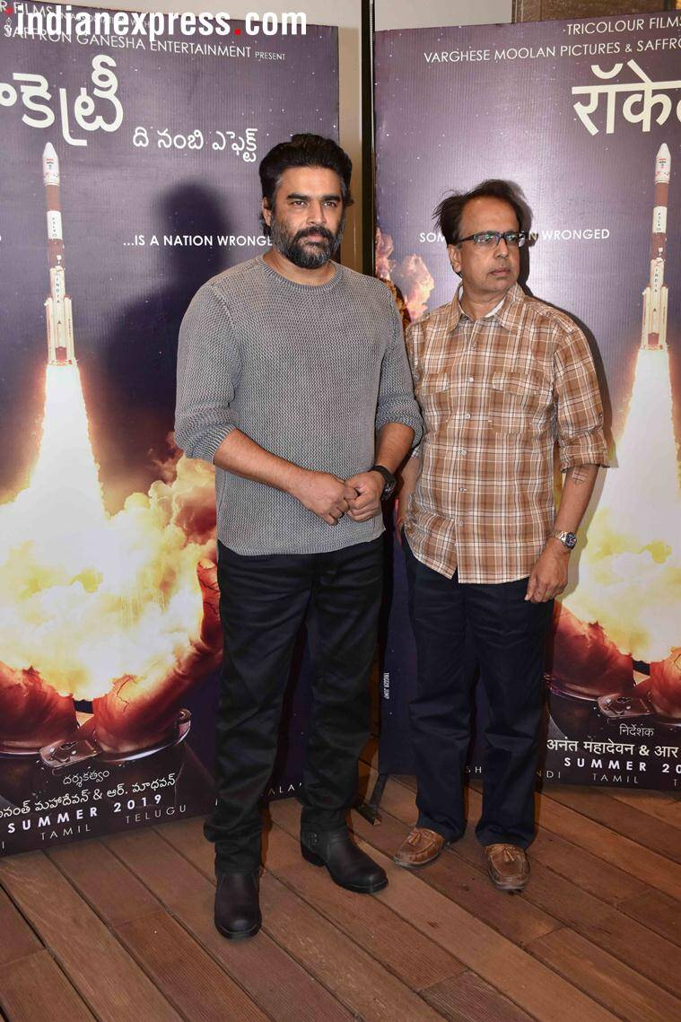 madhavan at teaser launch of rocketry