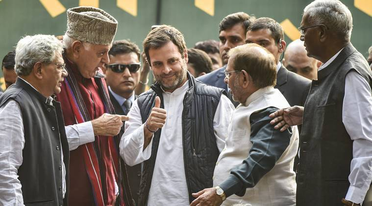 We stand united with farmers; they're asking for their due, not free gift: Rahul