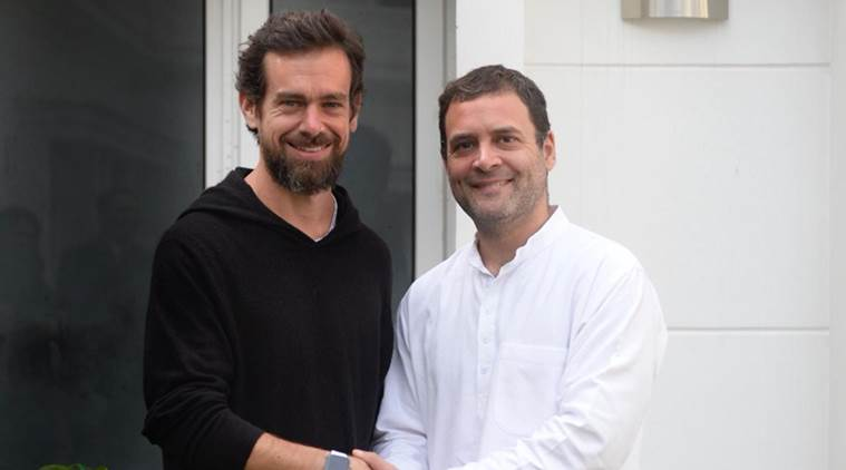 Rahul Gandhi, Twitter CEO Jack Dorsey discuss ways to tackle fake news