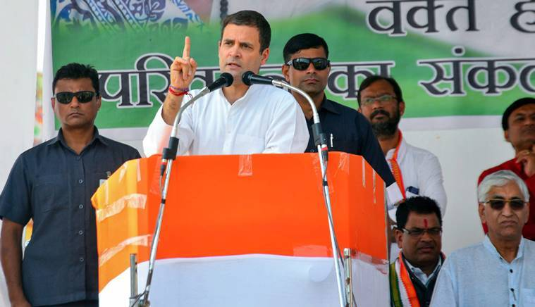 Chhattisgarh polls: Modi waived loans worth Rs 3.5 lakh crore of select industrialists, says Rahul Gandhi