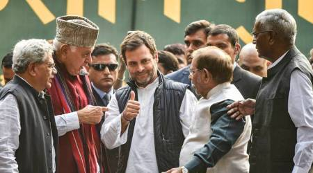 Farmers rally day 2 brings to display a united show of strength by Opposition parties