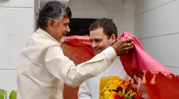 "When questioned about the history of the animosity between the two parties, Rahul said, ""We have had a past. But both of us agreed that we are not going to get into the past."" (INC)"
