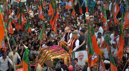 bjp rath yatra, bjp rally, bjp campaign, kolkata govt barring bjp rally, mamata banerjee, mamata govt against bjp rally, high court order, hogh court on bjp ratha yatra, kolkata news, indian express