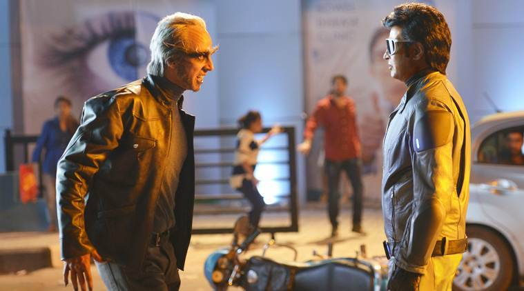 Rajinikanth Akshay Kumar Amy Jackson 2.0 making