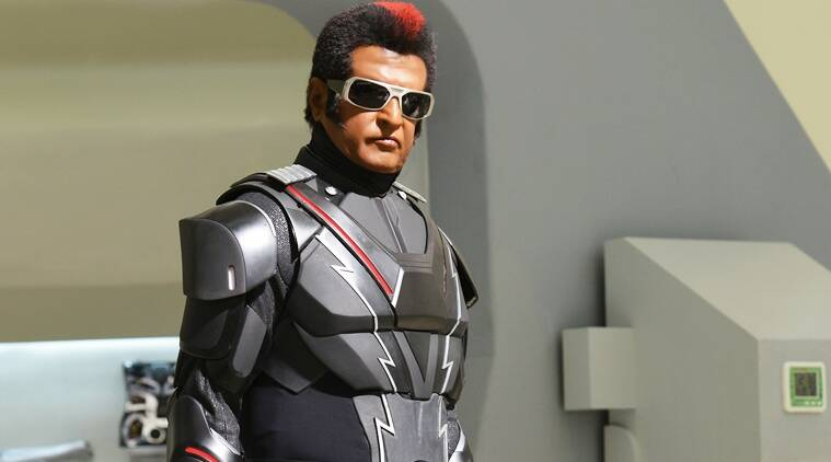 Rajinikanth robot 2.0 photo