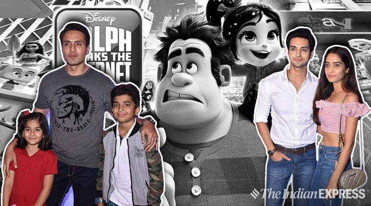 ralph breaks the internet film screening in mumbai