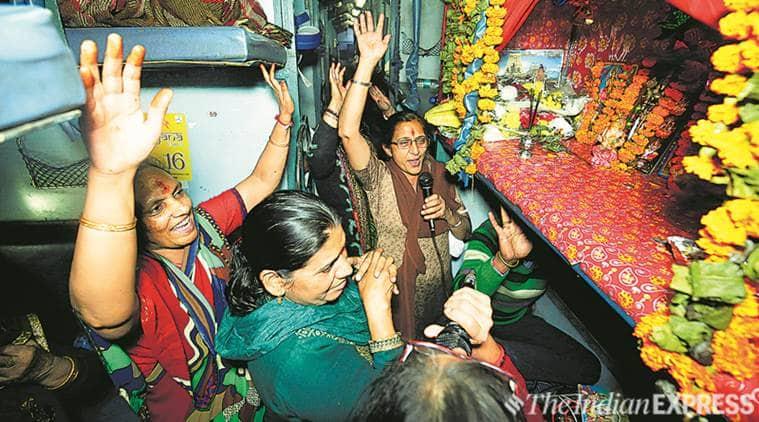 Ram on track: Aboard the Ramayana Express