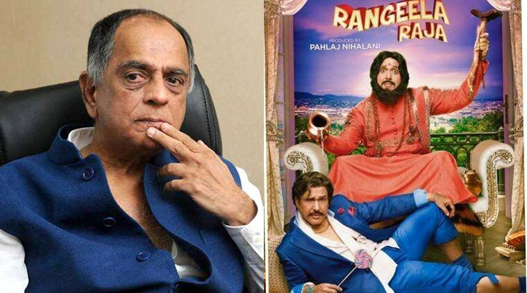 pahlaj nihalani on the cuts in rangeela raja