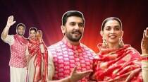 Deepika Padukone and Ranveer Singh have reached Mumbai wearing these gorgeous Sabyasachi outfits