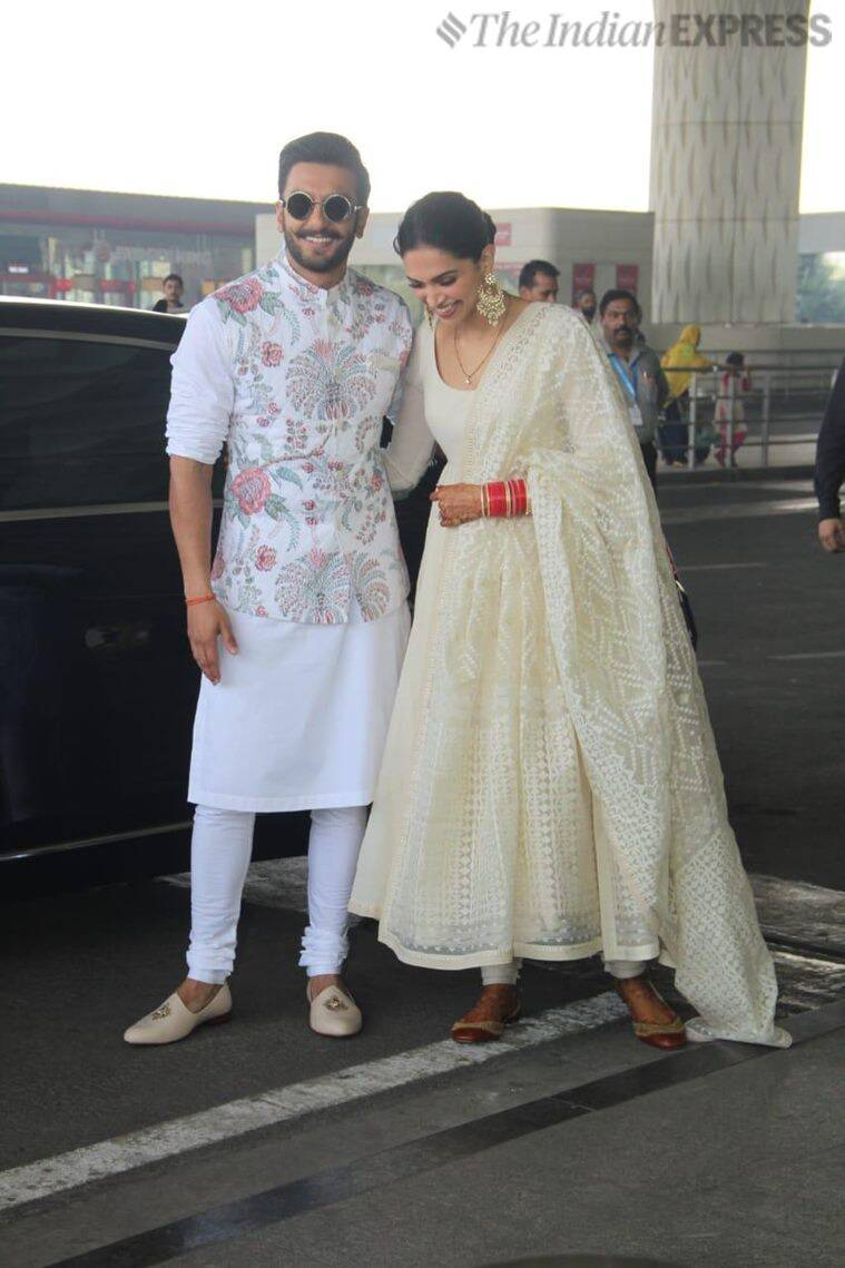 Deepika Padukone and Ranveer Singh cut a pretty picture in ...