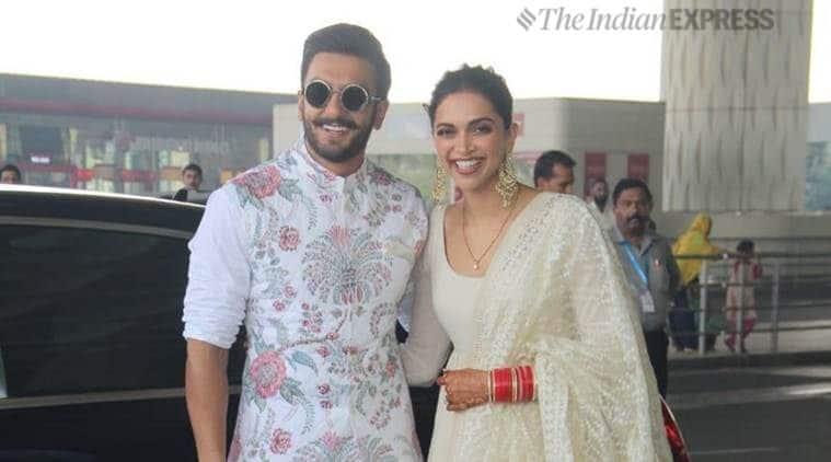 Deepika and Ranveer look adorable as they head to ...