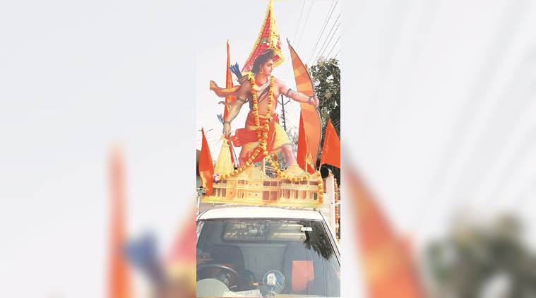 VHP rath yatra, proposing ram Temple, VHP to mobilise Crowd, Dharma Sabha, Ram temple in Ayodhay, Indian
