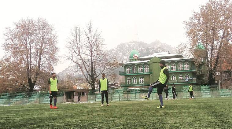 As snow falls in Srinagar, Real Kashmir warms up to first I-League game in J&K