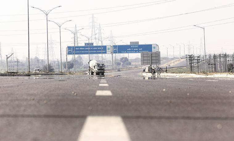 Kundli-Manesar stretch of the Western Peripheral Expressway was inaugurated by Prime Minister Narendra Modi