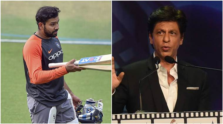 Rohit Sharma asks Shah Rukh Khan for another memory at Eden Gardens