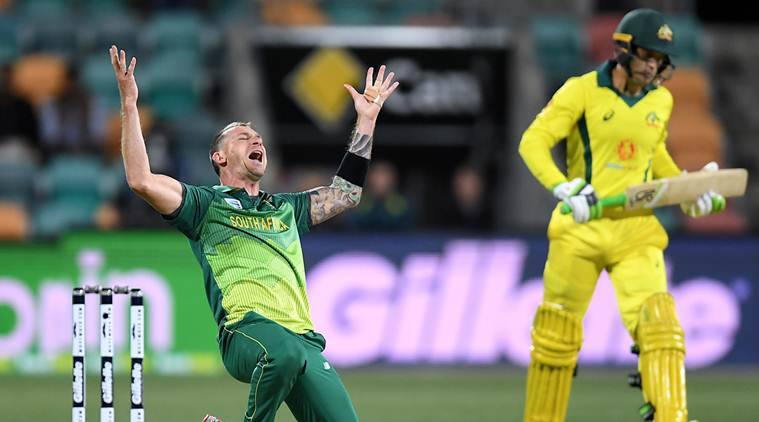 Chris Morris the hero as South Africa beat Australia in truncated T20