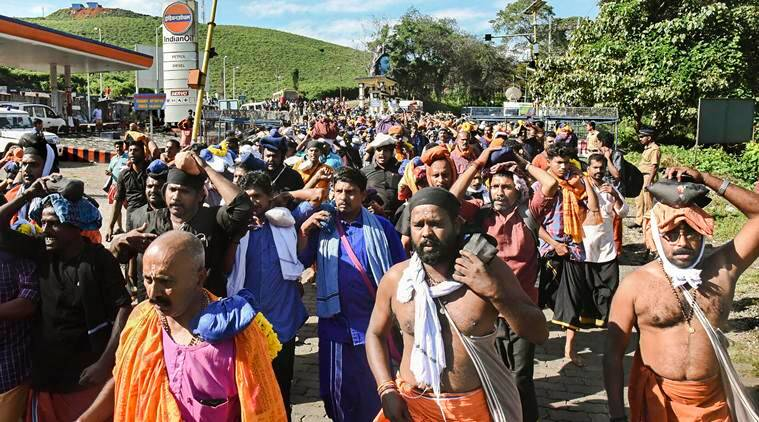 Sabarimala shrine and base camps remain largely peaceful on final day of 2-day ritual