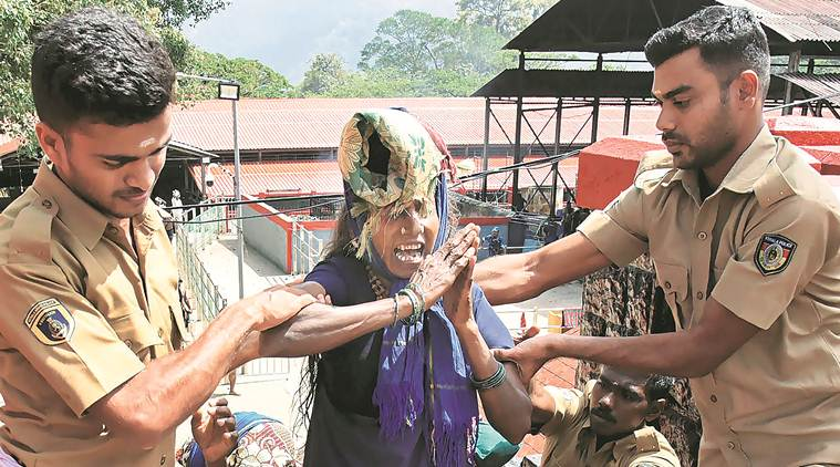 sabarimala, sabarimala temple, sabarimala row, supreme court verdict, sabarimala protest, pinarayi vijayan, women entry, Kerala cm, kerala government, indian express