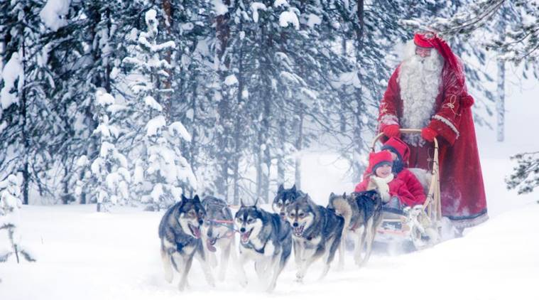 santa claus village, santa claus village finland, santa claus village christmas, santa claus village location, santa claus village booking, santa claus village updates, chirtmas holiday destination, santa claus village, where does santa claus live, indian express, indian express news