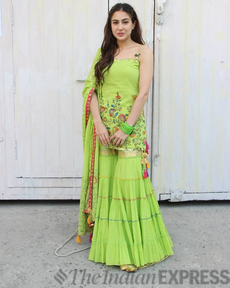 Sara Ali Khan, Sara Ali Khan fashion