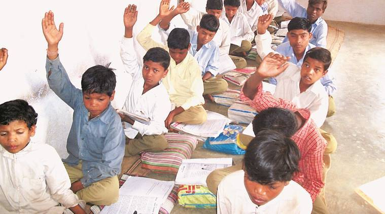 Ahmedabad Municipal Corporation, AMC schools, AMC schools homework, improve learning levels, Indian express