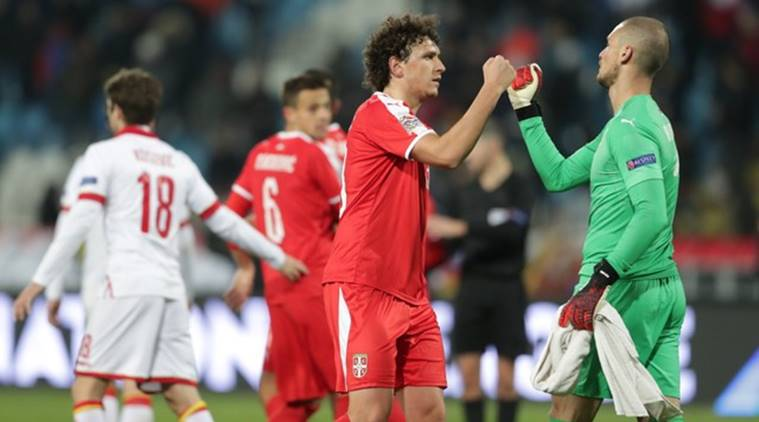 UEFA Nations League: Serbia eye promotion after beating Montenegro