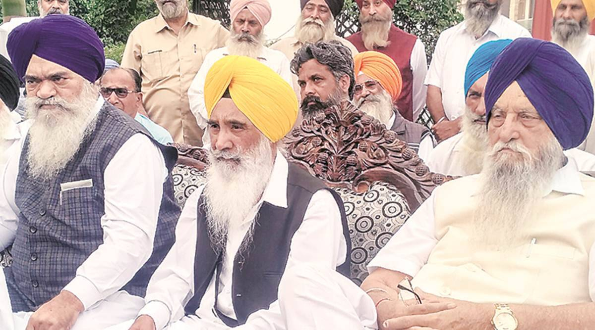 Sewa Singh Sekhwan, SAD BJP split, farm bills, farmers protest, farm bills SAD, punjab protests, indian express, sukhbir badal