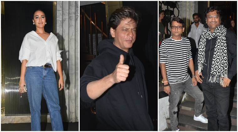 shah rukh khan birthday dinner photos