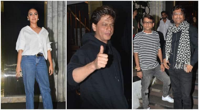After Zero Trailer Launch Shah Rukh Khan Hosts Birthday Dinner For